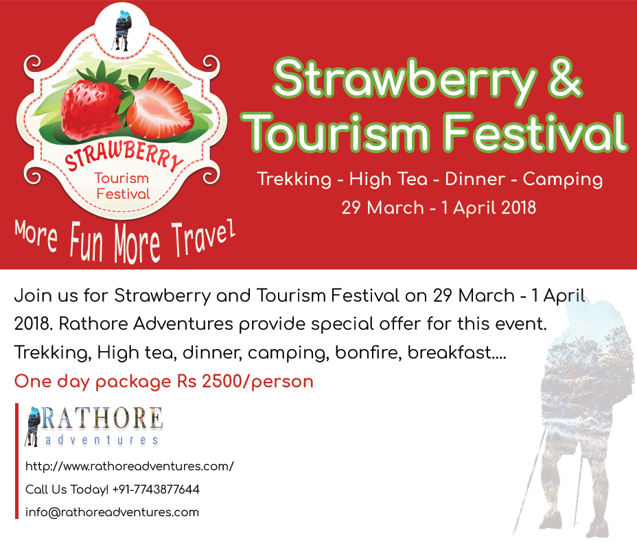 Strawberry and Tourism Festival on 29 March